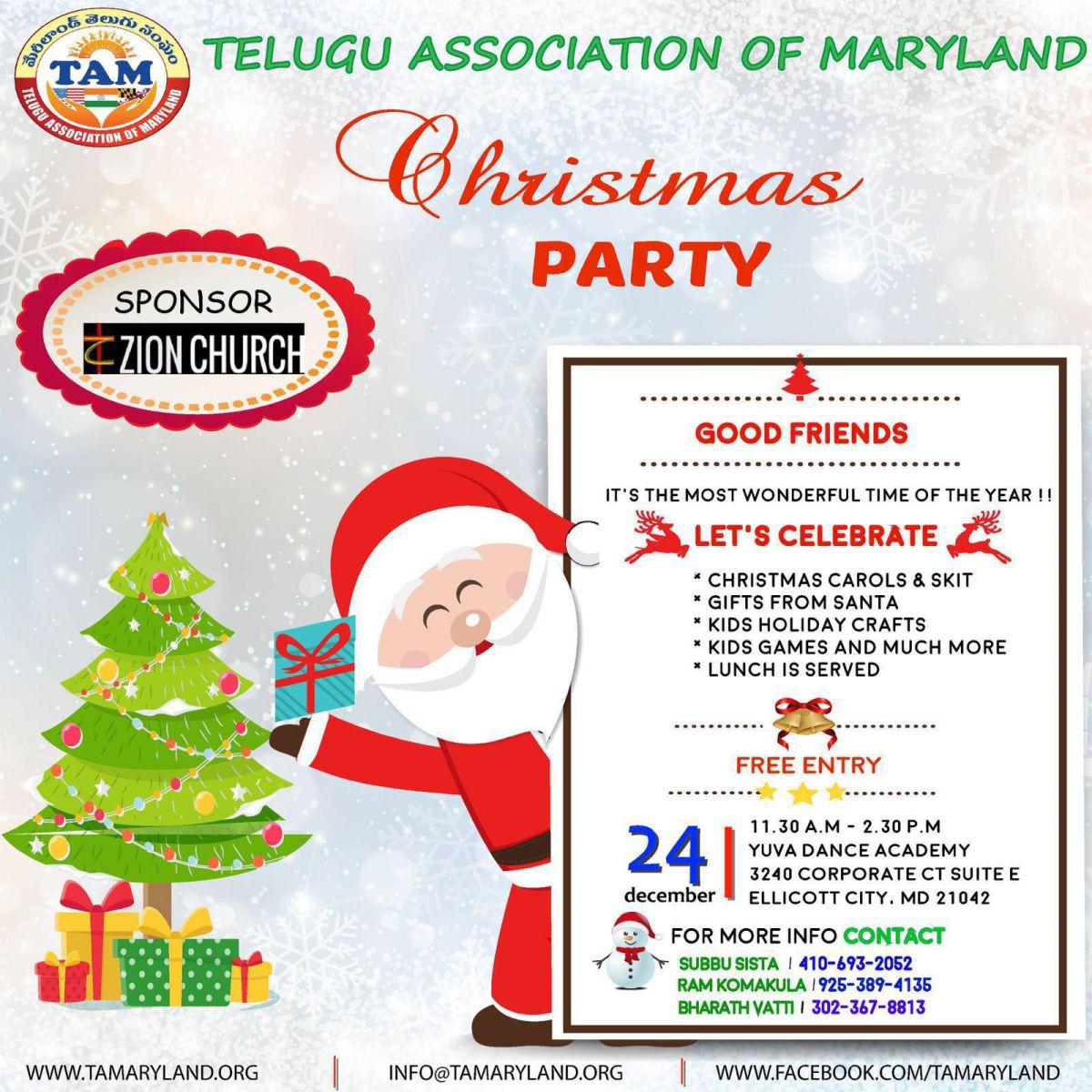 TAM Christmas Celebrations